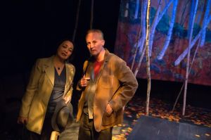 Lisa Tejero, Eric Dean White Photo by Peter Wochniak Uptream Theater