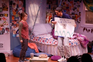 Danielle Carlacci, Reynaldo Piniella Photo by Jerry Naunheim Jr. Repertory Theatre of St. Louis