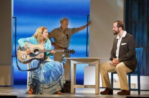 Kyra Belle Johnson, Ryan M. Hunt, Andrew Tebo Photo by Joan Marcus Mamma Mia! National Tour
