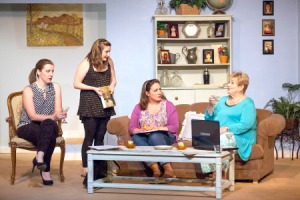 Nicole Angeli, Elizabeth Van Pelt, Mara Bollini, Donna Weinsting Photo by John Lamb West End Players Guild