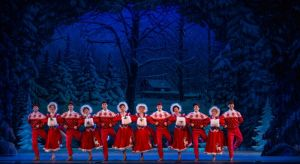 Cast of Irving Berlin's White Christmas Photo by Kevin White White Christmas National Tour