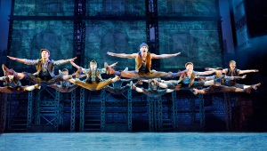Cast of Newsies Photo by Deen Van Meer Newsies North American Tour