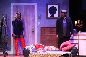 Erin Renee Roberts, Ron Himes Photo by Stewart Goldstein The Black Rep