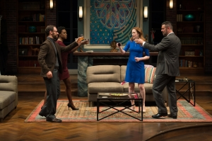 Jonathan C. Kaplan, Rachel Christopher, Leigh Williams, John Pasha Photo by Peter Wochniak Repertory Theatre of St. Louis
