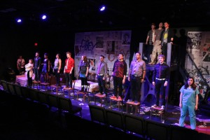 Cast of American Idiot Photo by Jill Ritter Lindberg New Line Theatre