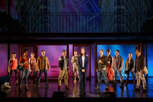 Jackie Burns (center) and Cast of If/Then Photo by Joan Marcus If/Then National Tour