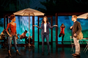 Tamyra Gray, Jackie Burns, Anthony Rapp and cast Photo by Joan Marcus If/Then National Tour