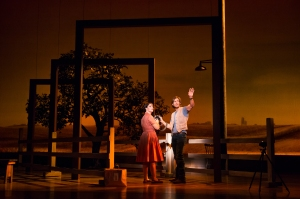 Elizabeth Stanley, Andrew Samonsky Photo by Matthew Murphy The Bridges of Madison County National Tour