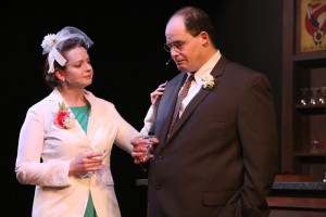 Ann Hier, Zachary Allen Farmer Photo by Jill Ritter Lindberg New Line Theatre