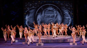 Cast of 42nd Street Photo: The Muny