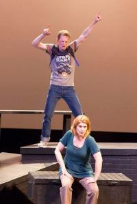Spencer Davis Milford, Jenni Ryan Photo by John Lamb Insight Theatre Company