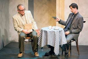 Eric Dean White, David Wassilak Photo by John Lamb St. Louis Actors' Studio