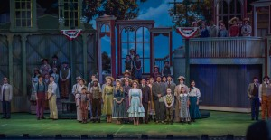 Cast of The Music Man Photo: The Muny