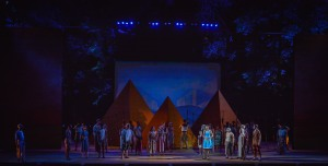 Cast of Aida Photo: The Muny