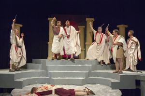 Cast of Julius Caesar Photo: St. Louis Shakespeare