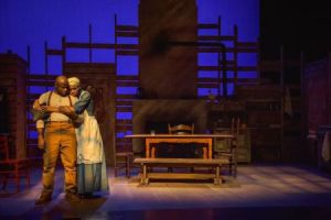 Eric J Conners, Alicia Reve' Like Photo by Phillip Hamer The Black Rep