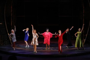 Zoe Vonder Haar, Dorothy Stanley, Christiane Noll, E. Faye Butler, Emily Skinner, Nancy Opel, Amra-Faye Wright Photo by Jerry Naunheim, Jr. Repertory Theatre of St. Louis