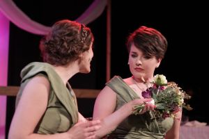 Eileen Engel, Lindsay Gingrich Photo by Michael Young R-S Theatrics