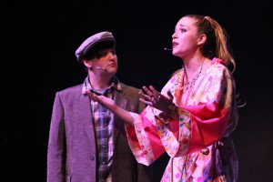 Sean Michael, Larissa White Photo by Jill Ritter Lindberg New Line Theatre