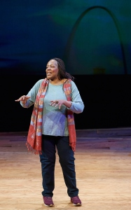 Dael Orlandersmith Photo by Peter Wochniak Repertory Theatre of St. Louis