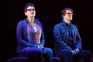 Kate Shindle, Robert Petkoff Photo by Joan Marcus Fun Home National Tour