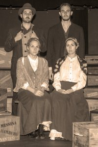 Jeremy Goldmeier, Emily Johnson, Zach Venturella, Airel Roukaerts Photo by John Lamb West End Players Guild