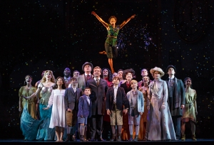Cast of Finding Neverland Photo by Carol Rosegg Finding Neverland National Tour
