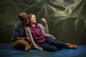 Eric Gilde, Ellen Adair Photo by Eric Woolsey Repertory Theatre of St. Louis
