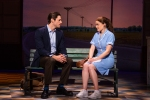 Steven Good and Christine Dwyer in the tour of Waitress Credit Philicia EndelmanDSC_1277